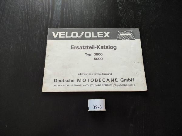 Velosolex 3800 5000 ORIGINAL Ersatzteil-Katalog Mofa Moped Motobecane (39)