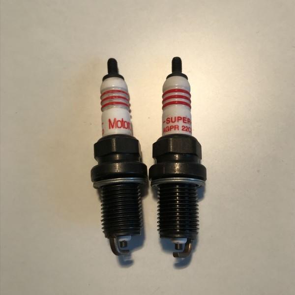 2x Motorcraft Zündkerze AGPR 22CD Spark Plug Tennplugg (Z37)