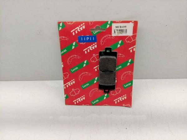 TRW Lucas MCB 695 Bremsbeläge - Vespa ET2 50 125 Gilera FX 125 180 200 (38-15)