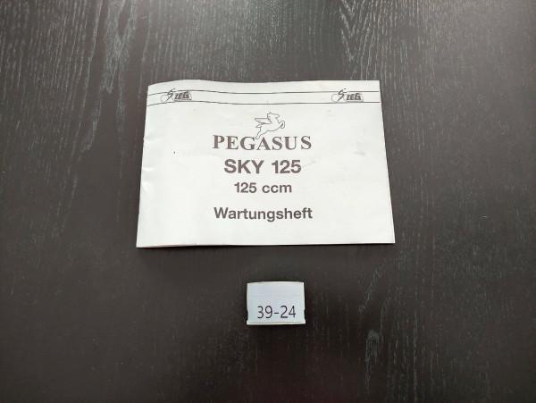 Pegasus SKY 125 - ORIGINAL Wartungsheft Inspektion Roller (39)
