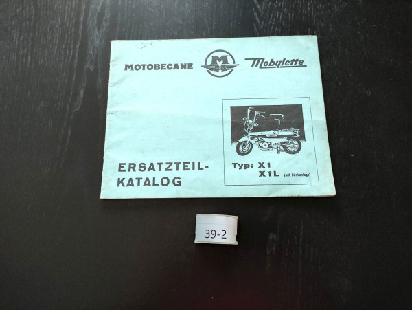 Motobecane Mobylette X1 X1L ORIGINAL Ersatzteil-Katalog Mofa Moped (39)