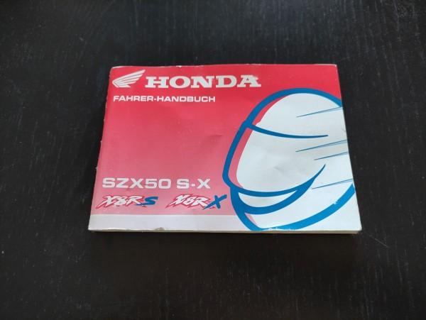 Honda X8RX X8RS - original Handbuch Bedienungsanleitung ! -- (36)