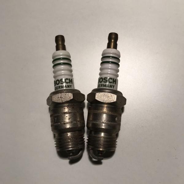 2x Bosch Zündkerze MA145T7 Spark Plug Tennplugg Z27