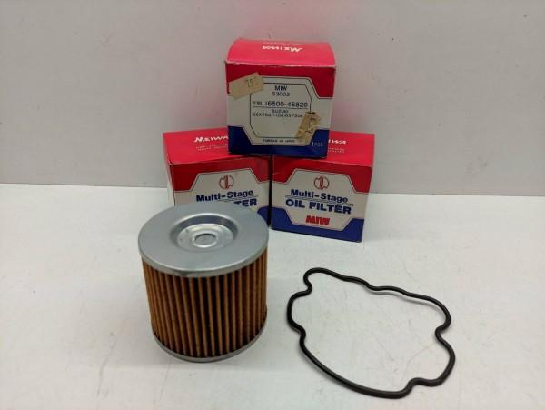 3 x Ölfilter MIW S3002 16500-45820 Suzuki GSX750/1100 / GS750 ET NEU (38-6)