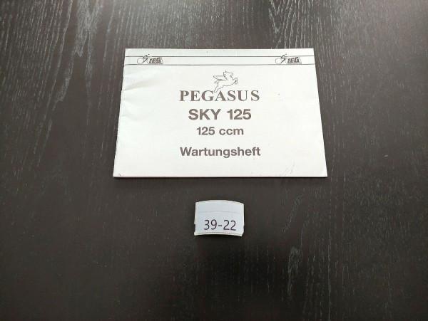 Pegasus SKY 125 - ORIGINAL Wartungsheft NEU Roller Inspektion (39)