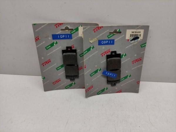 Lucas TRW Bremsbeläge MCB 695 - Vespa ET2 Gilera FX 125 180 200 ! (38-15)