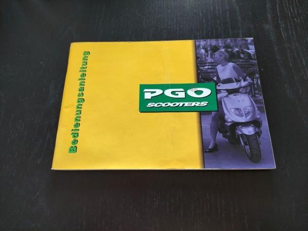 PGO Big Max Mega Comet - original Bedienungsanleitung ! -- (36)