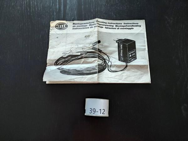 Hella Bedienungsanleitung Batterieladegerät Alt Charger 6V 12V (39)