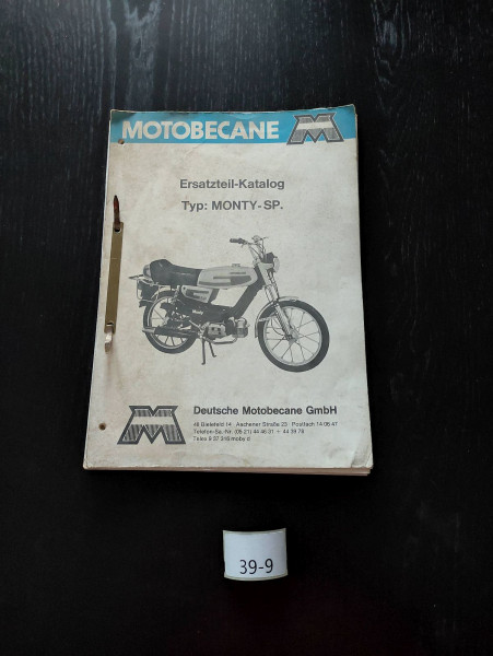 Motobecane MONTY-SP Mofa Moped ORIGINAL Ersatzteil-Katalog Ersatzteilliste (39)
