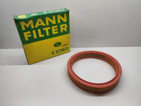 Original MANN Luftfilter C2736/2 - Ford Fiesta, Escort, Orion ! -- (E8