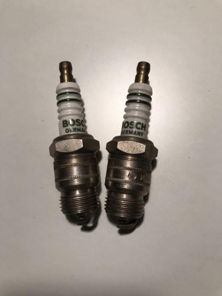 2x Bosch Zündkerze MA145T7 Spark Plug Tennplugg Z25