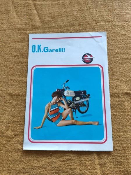 Garelli Mofa Moped - original Prospekt Modellübersicht Junior Capri - (31)