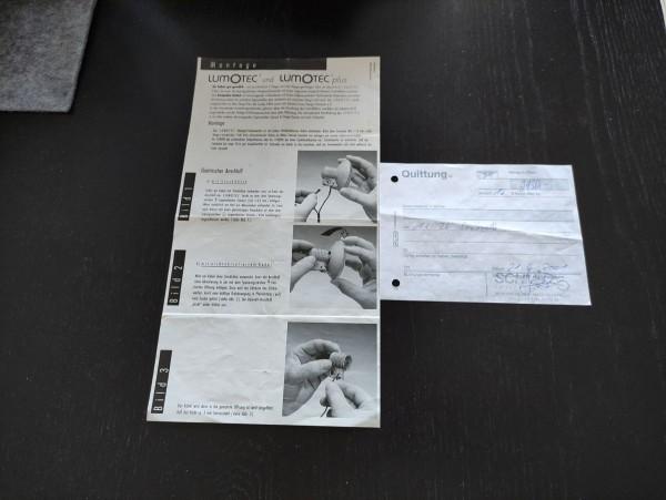 Saxonette Classic - Kaufquittung + Scheinwerfer Montageanleitung Lumotec! (36)