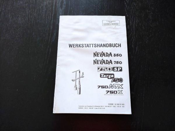Moto Guzzi Nevada 350 750 SP Targa 750 Werkstatthandbuch Reparaturanleitung (38)