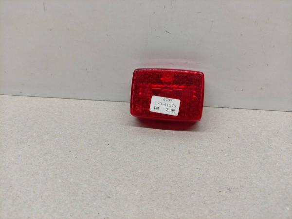 ULO 221 ORIGINAL Rücklichtglas Kappe NEU Hercules Zündapp Kreidler KTM (39-14)