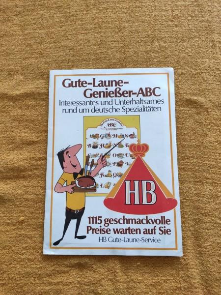 HB - Gute Laune Genießer ABC Zigaretten Werbung Sammler 1978 ! -- (31)