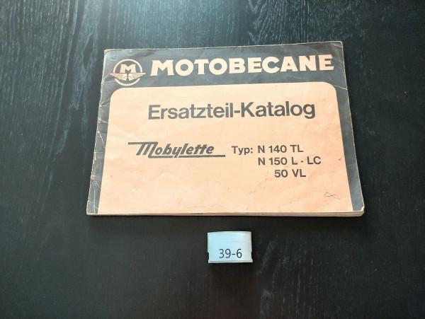 Mobylette N140 TL, N150 L LC, 50VL ORIGINAL Ersatzteil-Katalog Motobecane (39)