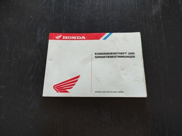 Honda X8RS SZX50SW - Kundendienstheft und Garantiebestimmungen ! -- (36)