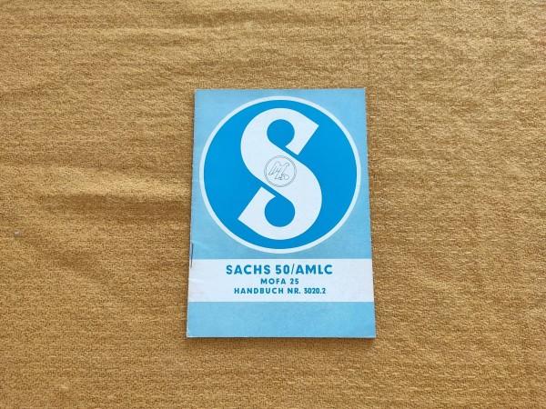 Sachs 50/AMLC Mofa 25 - original Handbuch Nr. 3020.2 Rarität ! -- (31)