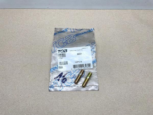 TGB Roller Quad ATV 2x ORIGINAL Auspuff Stehbolzen M8x33 TGB stud screw (40-23)