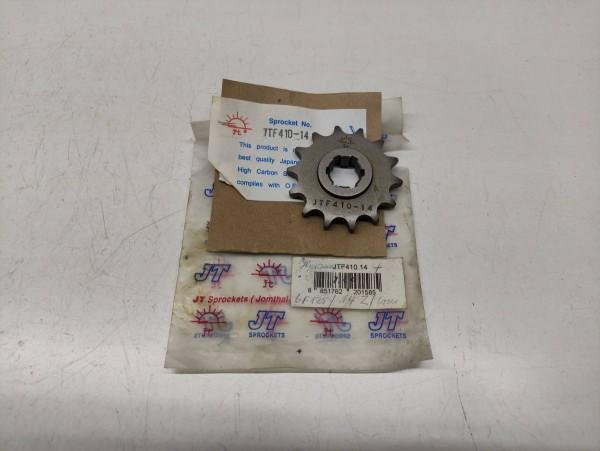 Hyosung GF125 CNC - Ritzel 14 Zähne JTF410-14 NEU (38-16)
