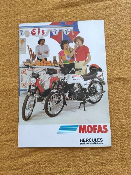 Hercules Mofa - original Prospekt GX Prima Übersicht Selten Rarität ! -- (31)