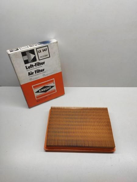 Mahle / Knecht Luftfilter LX 547 - Mazda 626 , Mazda 323 ! -(E12